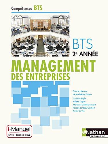 Management des entreprises BTS 2e anne
