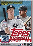 Topps 2019 Baseball Series 1 Sammelkarten Relic Value Box (Retail Edition)
