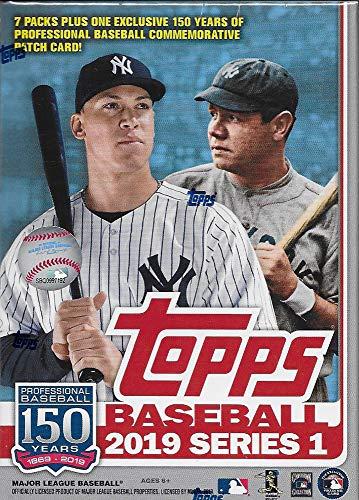 Topps 2019 Baseball Series 1 Sammelkarten Relic Value Box (Retail Edition) - Topps Baseball-karten