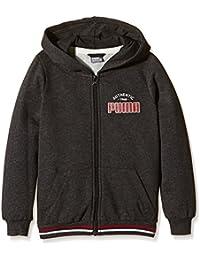 PUMA Boy's Hooded Sweat Jacket Athletic Style
