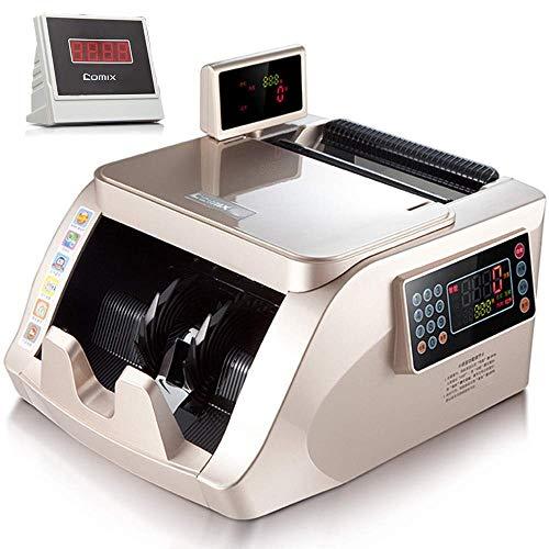LBSX Il Denaro contatore Elite w/Count Veloce - UV/MG/IR contraffazione Bill Detection, Allarme contraffazione, con 2 Display LED 1000 Bills al Minuto, Professionale Bancomat Counting