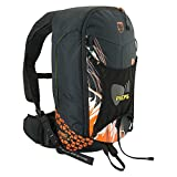 Pieps Jetforce Rider 10 Lawinenairbag, Farbe:Black/orange