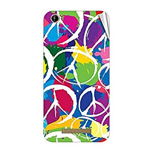 Garmor Designer Mobile Skin Sticker For Intex Aqua Play - Mobile Sticker