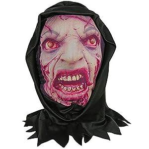 Forum Novelties 79395 Bristol Novelty Zombie Skin - Máscara con Capucha, Multicolor