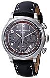 Baume & Mercier Herren-Armbanduhr 42mm Armband Kalbsleder Schwarz Gehäuse Edelstahl Automatik MOA10003
