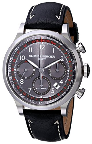 baume-mercier-herren-armbanduhr-42mm-armband-kalbsleder-schwarz-gehause-edelstahl-automatik-moa10003