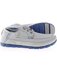 Crocs - Stretch Sole Lace Light Greycerulean Blue - Color: Azul marino-Gris - Size: 42.0