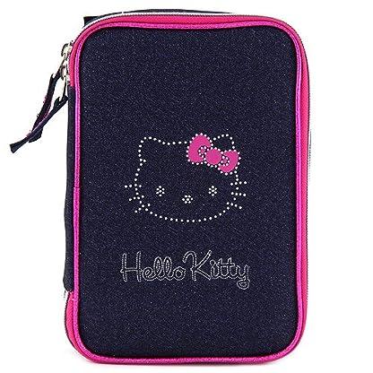 Target Hello Kitty Pencil Case Estuches, 22 cm, Rosa (Pink/Blue)