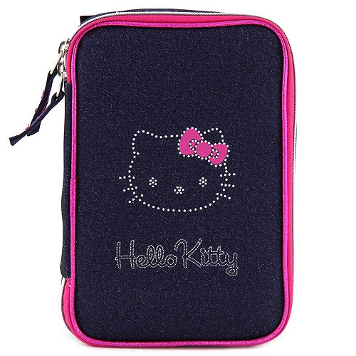 Target Hello Kitty Pencil Case Federmäppchen, 22 cm, Rosa (Pink/Blue)
