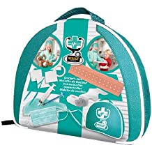 SES Creative - Rescue World, maletín de médico de juguete, multicolor (09201)