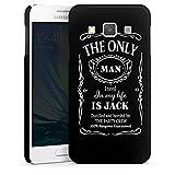 DeinDesign Samsung Galaxy A3 (2015) Hülle Premium Case Cover Alkohol Spruch Whiskey
