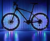 Ailiebhaus Fahrrad Licht 20 Led Rad Speichen Wasserdichte Speichenlicht