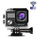 4K Action WiFi 1080P 16 MP Camera, OCDAY Sport 170°Grandangolare Telecamere di Altissima Qualità Ultra HD con 2.0' LCD