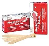 Madera Medi Pat clean boca espátula esterilizado 100 pcs