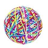 Yingwei VWH Jouets Colorés de Chats Jouets Interactifs de Boule de Roulement d'animal Familier pour Le Chat(coloré)