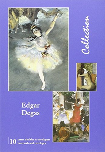 (PVC)-9,50e-Pochette 10Cartes Edgar Degas -