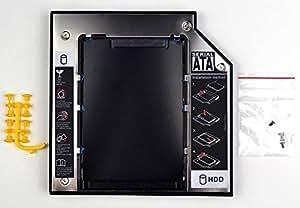 Gotor® 2nd 12.7mm SATA Hard Drive HD HDD SSD Caddy Adapter Pour M50V N50V G50V N55S M51va N61 swap TS-L633A