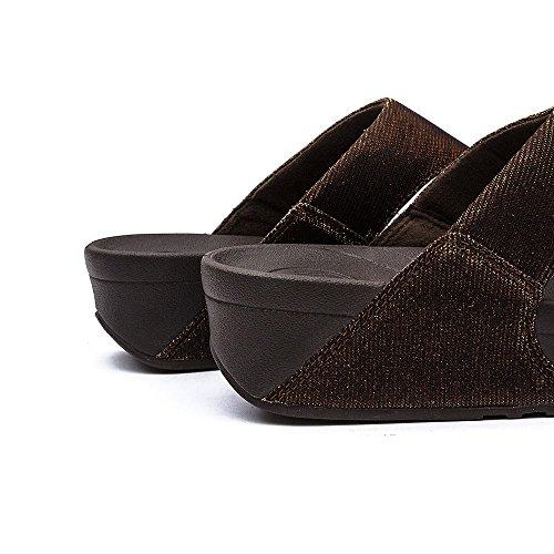 FitFlop™ Super Electra™ Sandals Bronze Bronze