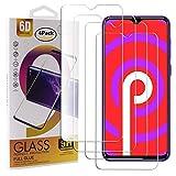 Guran 4 Paquete Cristal Templado Protector de Pantalla para Vernee M7 (2019) Smartphone 9H Dureza Anti-Ara?azos Alta Definicion Transparente Película