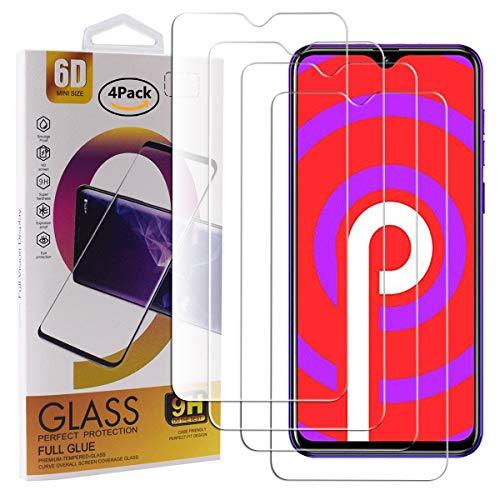 Guran 4 Stück GEH?rtetes Glas Displayschutzfolie für Vernee M7 (2019) Smartphone mit 9H H?RTE Panzerglasfolie Anti-Kratzer HD Klar Schutzfolie Film