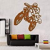 guijiumai Wandtattoo Vinyl Kunst Wohnkultur Aufkleber Fahrrad Motorrad Sport Aufkleber Kinderzimmer...