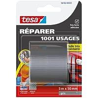 Tesa 56492-00000-00 - Cinta reparadora multiusos (recubierta de tejido, muy resistente, 5 m x 50 mm)