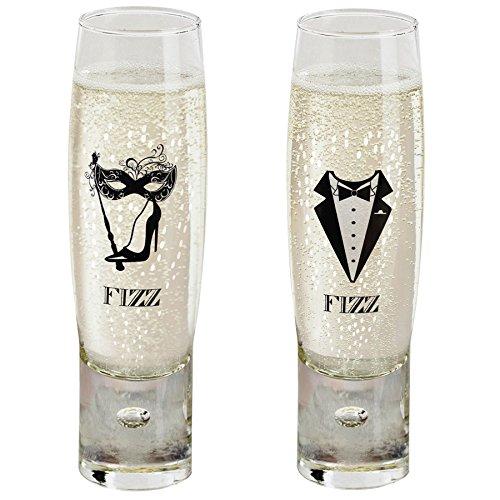 Durobor Gentleman's Fizz Coupe de Champagne 150ml - Lot de 2
