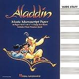 ALADDIN MUSIC MANUSCRIPT PAPER WIDE STAFF (1994-03-01)