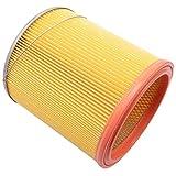 vhbw filtre d'aspirateur pour Kress 1200 NTX EA aspirateur filtre rond plissé