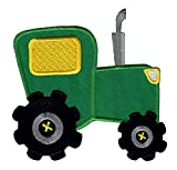 PatchMommy Traktor Trecker Patch Aufnäher Applikation Bügelbild - zum Aufbügeln oder Aufnähen -...