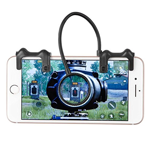 TAOtTAO Telefon Mobile Gaming Trigger Feuer Knopf Griff für L1R1 Shooter Controller - Gewinnen Um Schießen, Zu