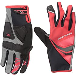 PEARL IZUMI Cyclone Long Gel Gloves, Men, Red, XL