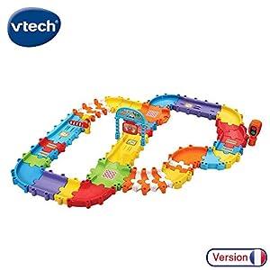 VTech Tut Tut Bolides Super Pack Multipistes Twist - Juegos educativos, Niño/niña, 1 año(s), 5 año(s), Francés, 696 mm