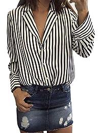 Amazon bluse top bianca it nere shirt EUR 50 e T Donna 20 qqvrRp