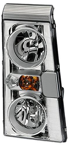 HELLA 1ER 246 046-521 Halogen Hauptscheinwerfer, Rechts, Ohne Kurvenlicht, mit Glühlampen