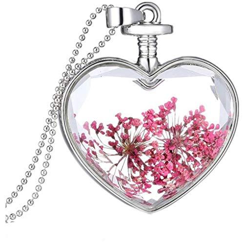 Dorical Damen 925 Sterling Silber 3A Zirkonia Halskette exquisite Geschenk/Frauen Halskette Beliebte Schmuck dchen Geschenk Promo (One size, Z-6)