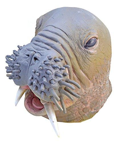 Bristol Novelty bm449Walrus Maske, eine Größe (Einfach Unter Dem Meer Kostüme)