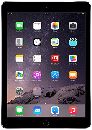 Apple iPad Air2 Tablet 16GB, Wi-Fi SG, Nero