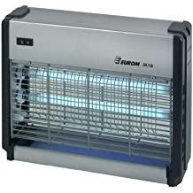 Eurom - Lámpara antinsectos y antimosquitos (2 bombillas ultravioletas de 8 W)