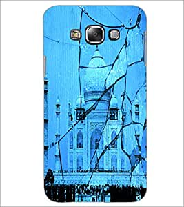 PrintDhaba Taj-Mahel D-2843 Back Case Cover for SAMSUNG GALAXY GRAND 3 (Multi-Coloured)