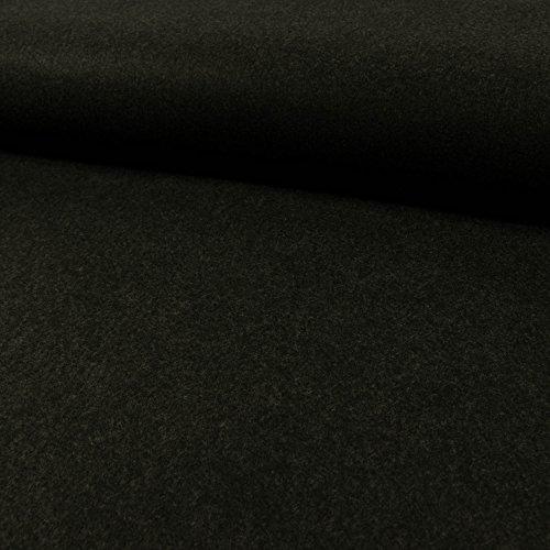 Deko- Bastelfilz 1mm anthrazit meliert -Preis gilt für 0,5 Meter-