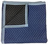 Beweglicher Decken–Pro Qualität–182,9x 203,2cm–Blau & Schwarz–von billige billige Umzugskartons