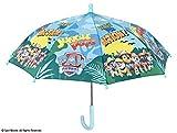 Perletti perletti7512138x 8cm Boy Paw Patrol bedruckt Sicherheit Öffnender Regenschirm