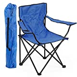 Divinz Folding Camping Small Chair Portable Fishing Beach Outdoor Collapsible Chairs- Color May