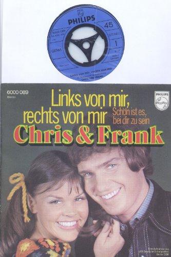 Links von mir, rechts von mir / Schön ist es, bei dir zu sein / Chris & Frank / eine Aufnahme des VEB Deutsche Schallplatten Berlin DDR / Bildhülle / PHILIPS # 6000 089