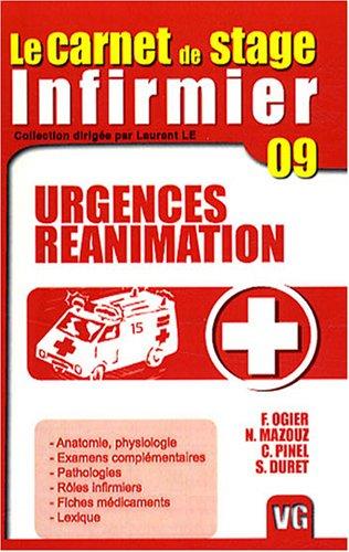 carnet de stage de l'infirmier Urgences, réanimation