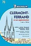 Plan Clermont-Ferrand et son agglomération Michelin