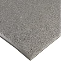 """NoTrax C01S2030GY Kitchen Comfort Mat, 20"""" Width x 30"""" Length x 3/8"""" Thickness, Gray by NoTrax"""