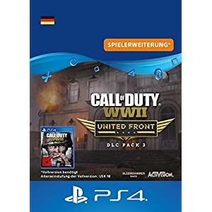 Call of Duty: WWII – DLC3: United Front DLC | PS4 Download Code – deutsches Konto