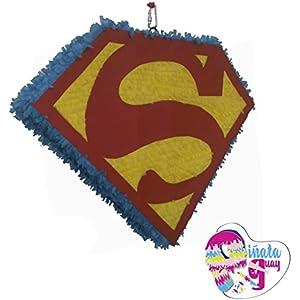 Superman Piñata.(Optionaler Stick)